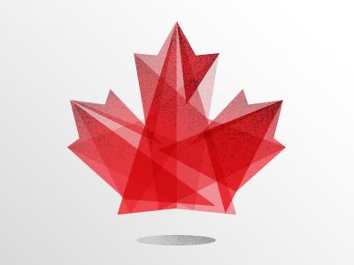 Happy 147th Birthday Canada! canada birthday canada day maple leaf flag illustration geometric canadian