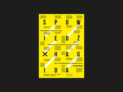 Kopublikacja poster vector swiss typo plakat graphic design poster minimal illustration grid typography paper letters