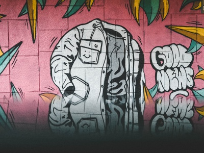 I lost my head in the wild! procreate europe handpaiting music hand lettering custom lettering illustration graffiti design