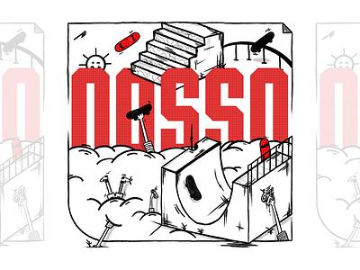 #NossoRemixed Artwork skateboard lettering design graffiti digital graffiti illustration