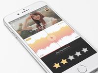 Music App Explore Design