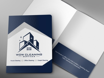 Front and Inside Folder Mockup branding and identity brand identity branding design branding brand folder design folders folder presentation folder