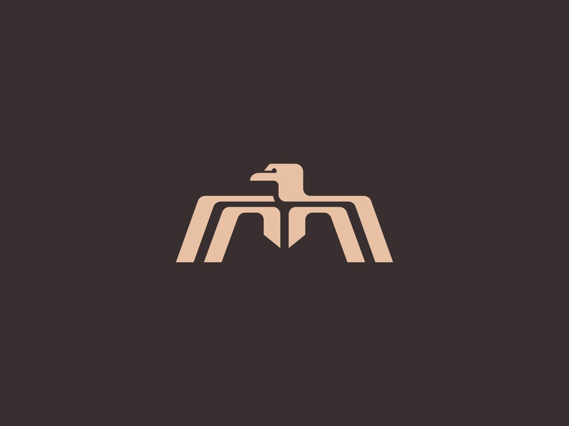 M Eagle mark monogram eagle