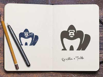 Ape Dental molar tooth dental dentist monkey chimp gorilla ape