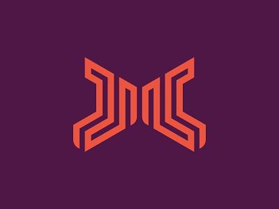 M Maze maze monogram