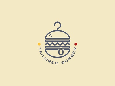 Tailored Burger food fashion tailor tailored fastfood sandwich burger hanger