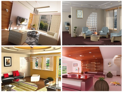 My old 3D interiors architecture interior study 3d art 3d