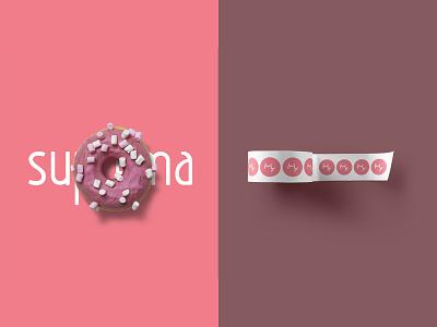 Doceria Suprema candy logotype logotipo logodesign logo design branding brand