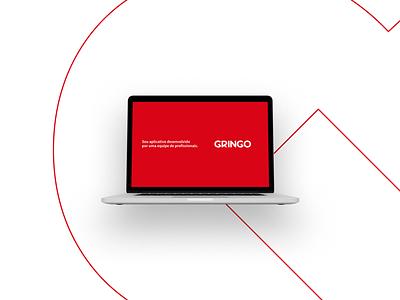Gringo Brand Design visual identity type typogaphy branding design brand logotype logotipo logodesign logo