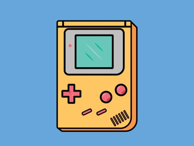 Nintendo Gameboy videogame gameboy nintendo gaming graphic design design