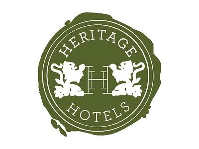 Heritage Hotels Logo Mark graphic design design logotype logo design logo brand identity brand design branding brand hotel hotel branding tourism