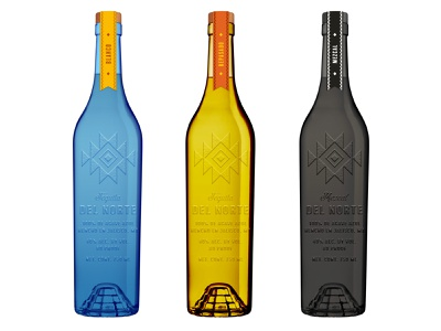 Del Norte Exploration tequila spirits alcohol packaging alcohol branding package design product design brand design packaging design packaging branding consumer goods brand identity