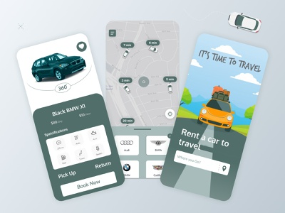 Car rent app ui app ui ux uidesign clean ui car app app uiux ui clean uxalam holyday travelling travel car booking app car booking car rental app car rental car rent
