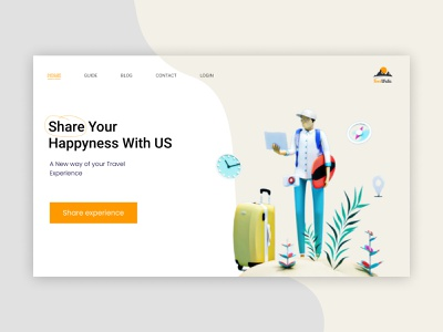 TourWala Guide provider web ui web ux web ui ui deisgn uxdesign uxui ux web app design landingpage travelling travel uxalam website design web design webdesign website web uidesign clean ui ui design ui