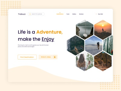 Traveler helping landig page user research ux design clean ui uidesign design concept mnimalist guide traveler travel web travel agency clean design company agency landing page design landing page web design webdesign website web uxalam