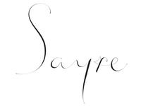 Sayre logo type