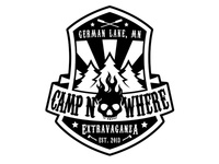 Camp Nowhere Extravaganza Badge Design