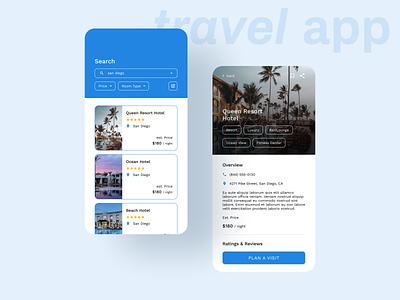Travel App Mobile UI mobile app product social app design interface mobile app ui design travel