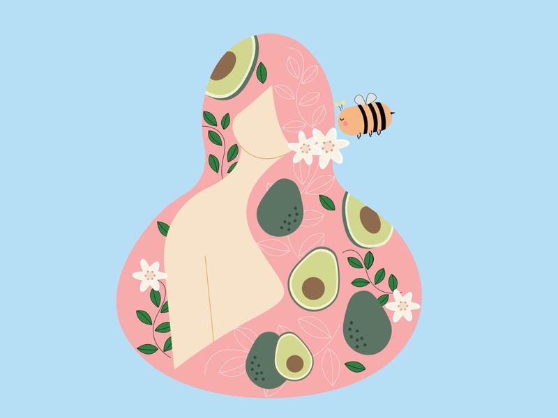 Avocado girl