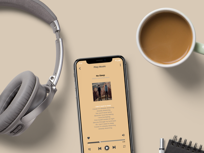 Play Music android app mockups iphone 11 mockup iphone 11 pro iphone x music app music player play music mockup template mockup design mockup