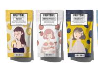Four-flavour tea set