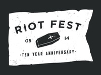 Riot Fest '14 Shirt Design