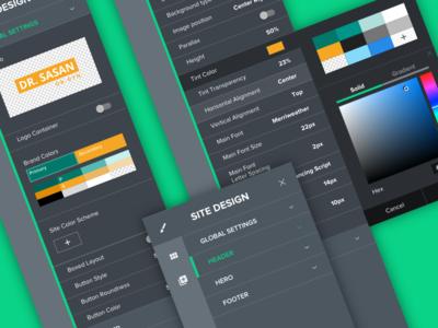 Website Designer Controls