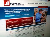 Tyrrells Website Design