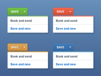 Colour Coded Dropdown Buttons