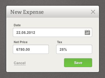 42 debitoor expense