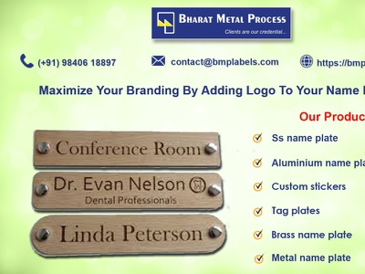 Name plate maker in chennai
