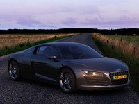 Audi R8 - HDRI lighting