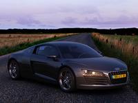 Audi R8 - HDRI lighting