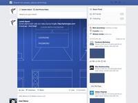 Facebook NewsFeed GUI