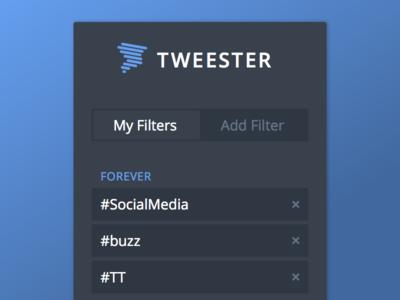 TweesterApp UI