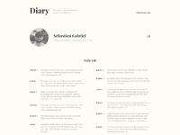 Diary profile big
