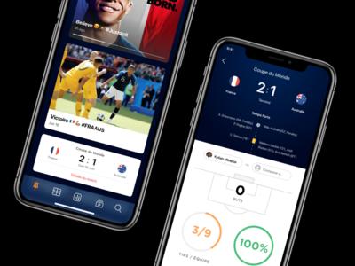 WIP - Soccer App