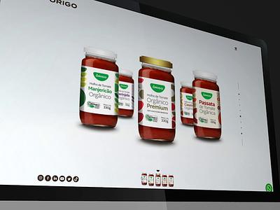 Origo Website landingpage minimal website motion uidesign ui