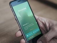 Xerofone App Welcome Screen