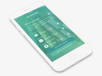 Xerofone App Dashboard
