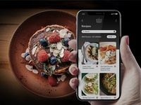 Recipes Page Concept