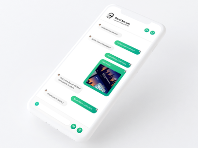 Daily_UI 13 of 100 uidesign ui mobile app product interface direct message direct concept day013 dailyui whatsapp
