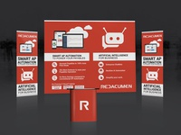 Trade booth decoration for REDACUMEN