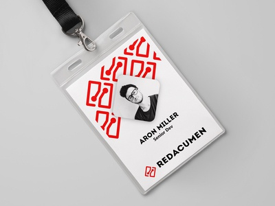 Employee ID minimal branding business card branding employee id corporate branding idendity brand and identity brand assets id card