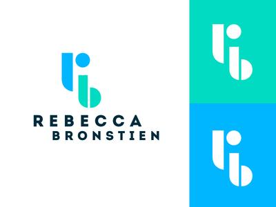 Personal Branding feminine design feminine logo feminine logo design personal logo initial logo initials rblogo rb ux designer ux logo branding
