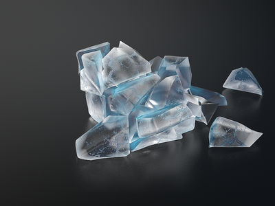 cracked icecube