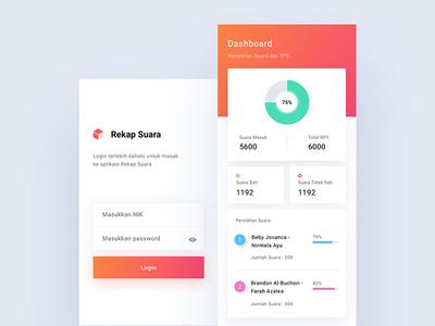 Rekap Suara App - Prototype