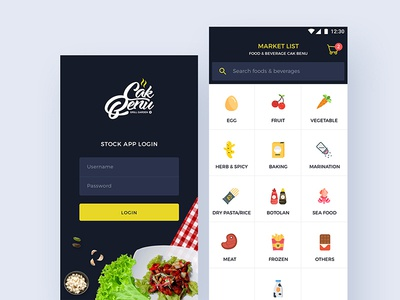 Cak Benu Stock App