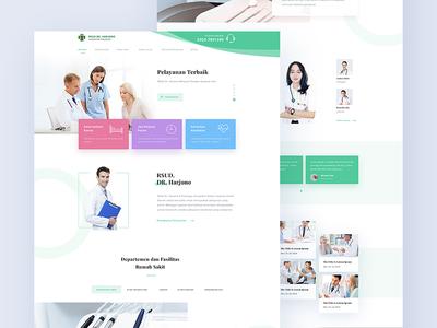 RSUD Dr. Harjono Website Concept
