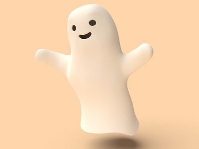 Ghost Buddy editorial illustration